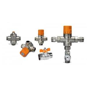 Grupo seguridad solar con manometro y conexion para vaso expansion (6 bar)
