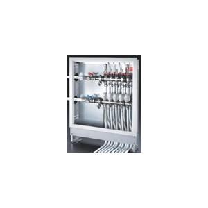 Conjunto premontado floorBox RM11T, 8 salidas