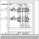Conjunto premontado floorBox, 4 salidas