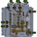 Base premontaje DN 40 doble